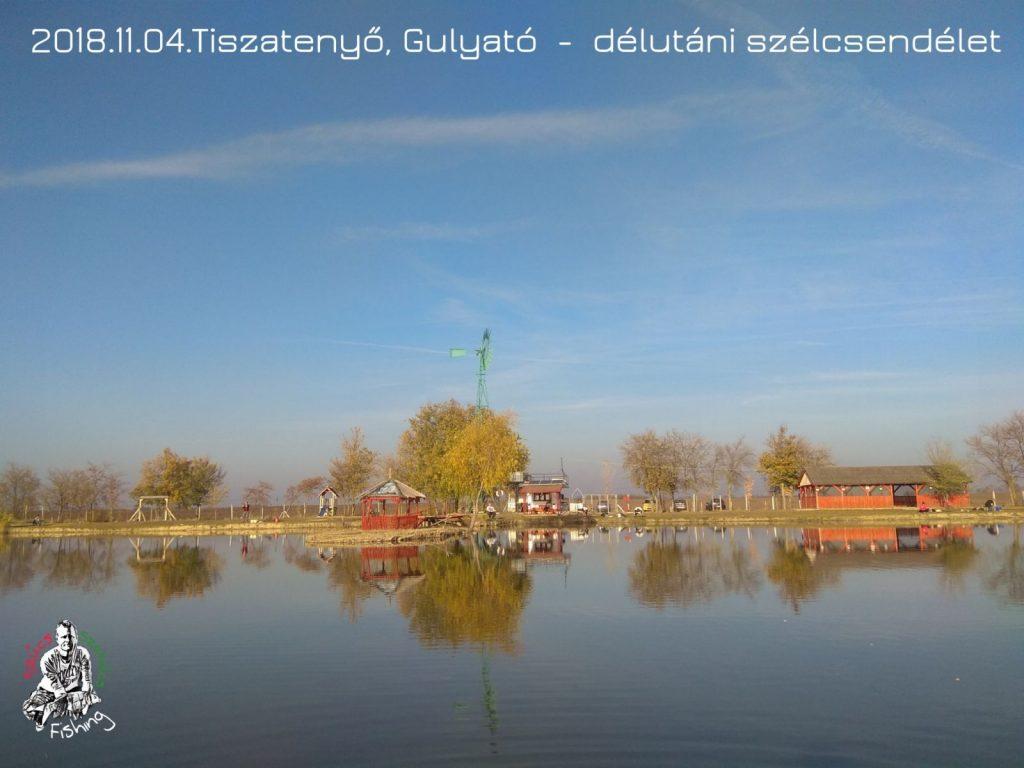 2018.11.04. Tiszatenyő, Gulya-tó – Óvatos pontyok és karácsonyi illatú aromák.